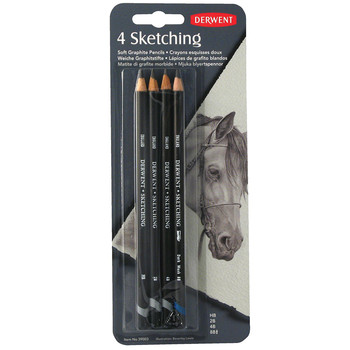 Derwent 4 Sketching Pencils