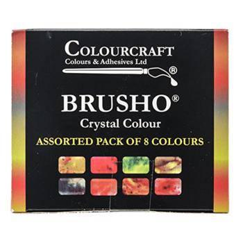 Brusho Assortment 8 new colours