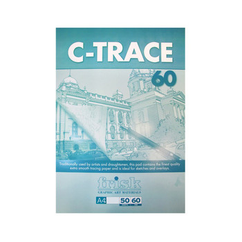 Frisk C-Trace Pad 60gsm A4 Pad