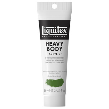 Liquitex Heavy Body Acrylic 59ml Chromium Oxide Green