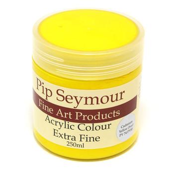 Pip Seymour Acrylic Cadmium Yellow 250ml (S1)