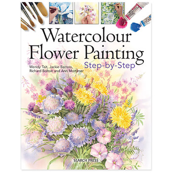 Watercolour Flower painting Step by Step