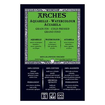 Arches Aquarelle Watercolour Paper (NOT) 640gsm 56 x 76cm *Pack Of 5*