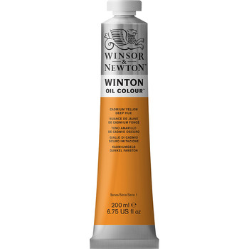 Winton Oil Colour 200ml Cadmium Yellow Deep Hue