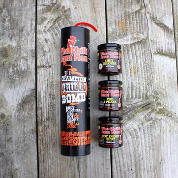 The Champion Chilli Bomb Gift Set