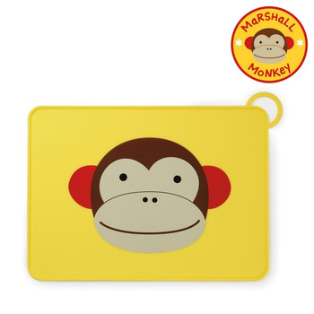 Zoo Fold&Go Silicone Placemat-Monkey