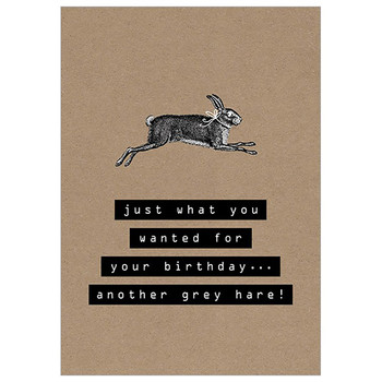 Card - Another Grey Hare