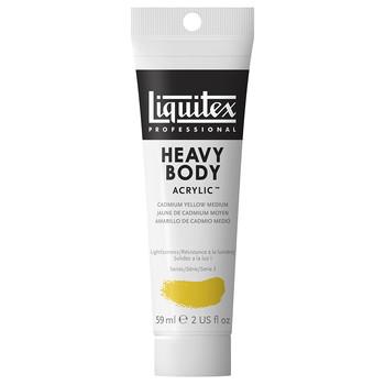 Liquitex Heavy Body Acrylic 59ml Cadmium Yellow Medium