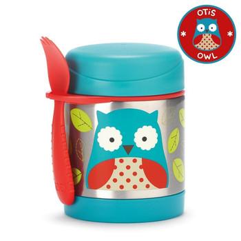 Zoo Food Jar-Owl