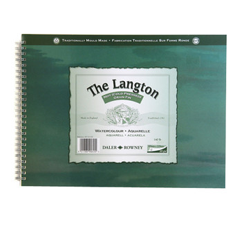 Langton Spiral Bound (NOT) 300gsm (140lb) 14 x 10