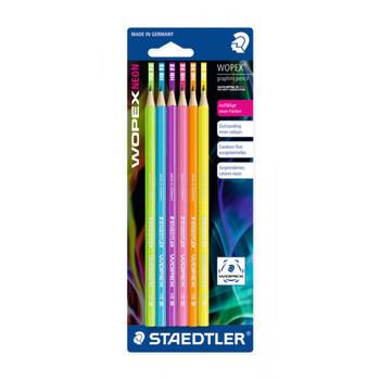 Staedtler Neon pencil pack x 6