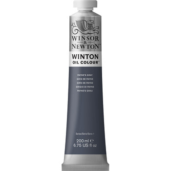 Winton Oil Colour 200ml Payne's Grey