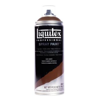 Liquitex spray raw umber