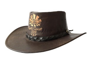 Wild Roo Kangaroo Leather Hat Image