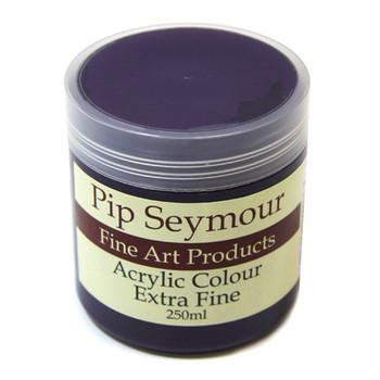 Pip Seymour Acrylic Dioxazine Purple 250ml (S3)