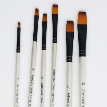 Pearl Watercolour Brush Flat