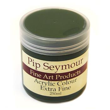 Pip Seymour Acrylic Green Gold 250ml (S3)