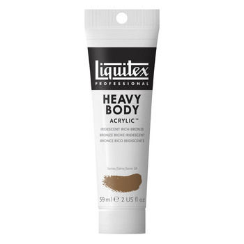 Liquitex Heavy Body Acrylic 59ml Iridescent Rich Bronze