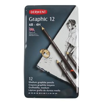 Derwent Graphic 12 Tin Medium