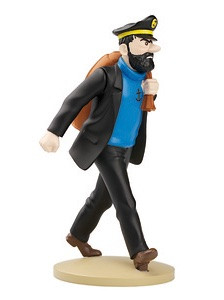 Tintin Resin Figurine Haddock On The Way Image