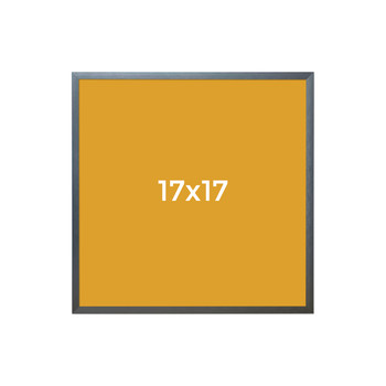 17 x 17 frame