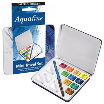 Aquafine Mini Travel Tin - 10 Half Pans