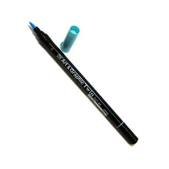 Art & Graphic Twin Tip Marker Glacier Blue