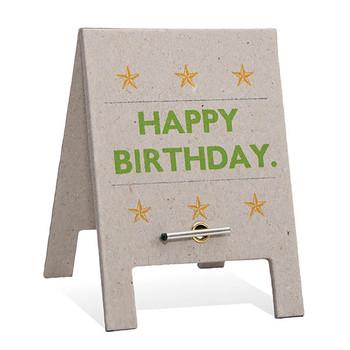 Card - Happy Birthday A frame