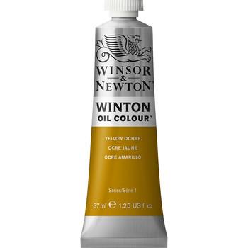 Winton Oil Colour 37ml Yellow Ochre