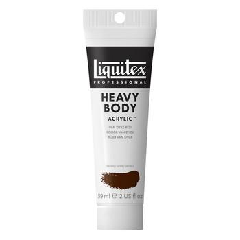 Liquitex Heavy Body Acrylic 59ml Vandyke Red Hue Permanent
