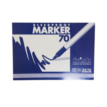 Frisk Bleedproof Marker Pad 70gsm A3 50s