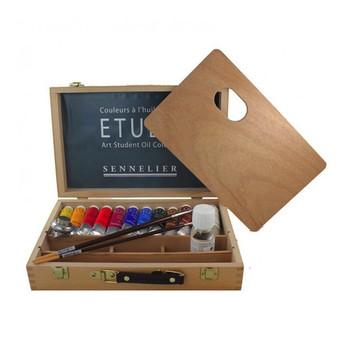 34ml Etude Wooden Set of 12 + extras