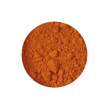 Dry Pigments Cadmium Yellow Orange - 100g in clear 200ml pot