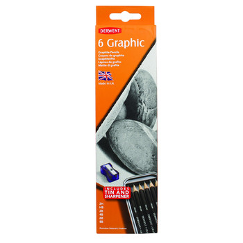 Derwent Graphic 6 Tin