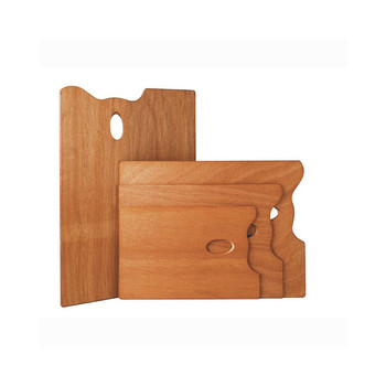 Mabef Rectangle Wooden Palette 25 X 35cms