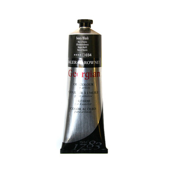 Georgian Oil 75ml Ivory Black
