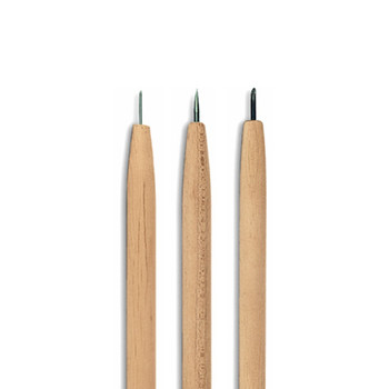 Abig Etching Needles Set of 3