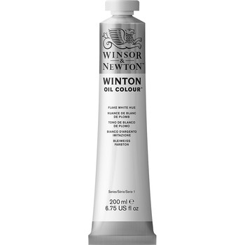 Winton Oil Colour 200ml Flake White Hue