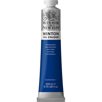 Winton Oil Colour 200ml Phthalo Blue