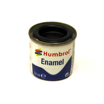Humbrol Enamel Matt Black 14ml
