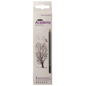 Derwent Academy Sketching Carton x 6