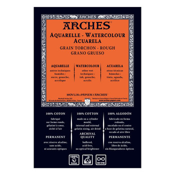Arches Aquarelle 5For4 Pack Rough 56 x 76cms 300gsm