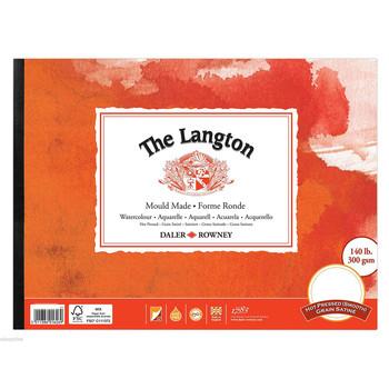 Langton Pad Smooth (HP) 300gsm (140lb) 12 X 9