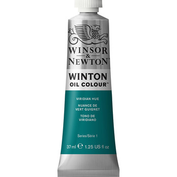Winton Oil Colour 37ml Viridian Hue Phthalo