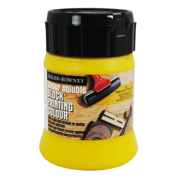 Water Soluble Block Printing Ink 250ml Brilliant Yellow
