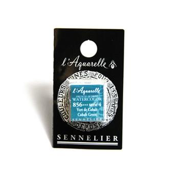 Sennelier Watercolour 1/2 Pan S4 - Cobalt Green