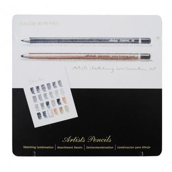 Daler Rowney Graphic/Sketch Pencil - 24 Tin