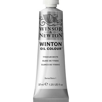 Winton Oil Colour 37ml Titanium White