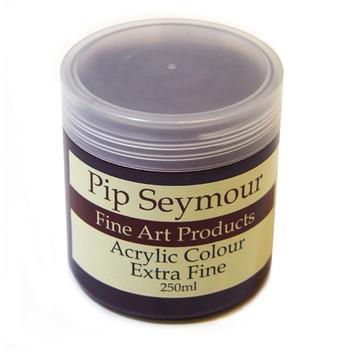 Pip Seymour Acrylic Alizarin Violet 250ml (S3)