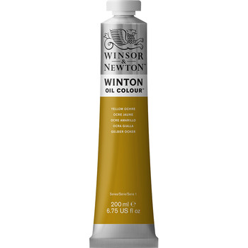 Winton Oil Colour 200ml Yellow Ochre